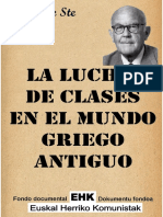 La Llucha de Clases en El Mundo Guieto Antiguao COMPLETA