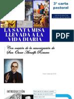 Carta Pastoral de Mons. Escobar Alas