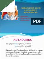 Autocoides y Antagonistas