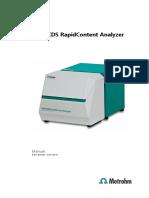 1289615 89218001EN Manual XDS RapidContent Analyzer