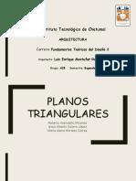 PLANOS TRIANGULARES