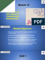 Module 10  Disclosure of HIV status in children and adolescents FINAL  23-1-17.pdf