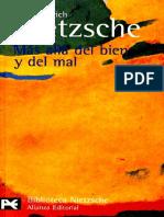 Nietzsche - Más allá del bien y del mal..pdf
