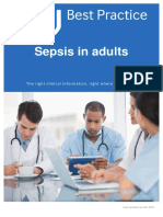 BMJ Best Practice 'Sepsis in Adult'