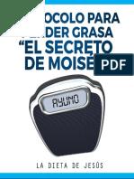 Protocolo Para Perder Grasa El Secreto de Moises