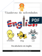 Cuadernos de actividades ingles