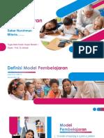 Sintaks Model Pembelajaran