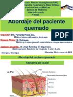 Abordaje Del Paciente Quemado- Dra. Pineda