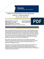 FIN 4486 Spring 2015 Syllabus