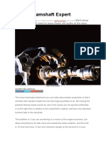 Be the Camshaft Expert