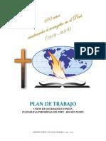Plan de Trabajo 2019 - 2021