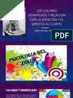 Los Colores y El Servicio Al Cliente