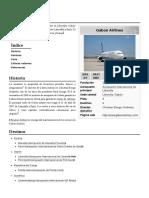 Gabon Airlines