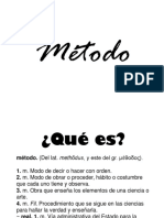 METODO SCOUT