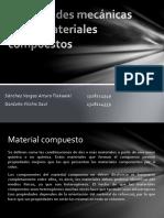 propiedades mecanicas de los materiales compuestos