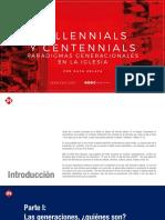 Millennials y Centennials