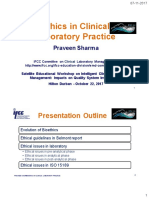 Ifcc Cclm Workshop Praveen Sharma Ethics in Clinical Laboratory Practice