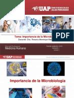 1. Clase Importancia de La Microbiología