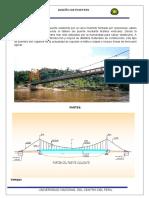 Informe puente colgante