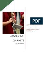 Historia Del Clarinete