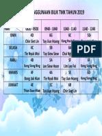 Jadual Penggunaan Bilik TMK 2019
