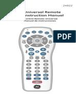 Manual Control Universal