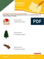 GUÍA Elementos Naturales y Artificiales