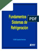 Fundamentos de sistemas  de refrigeración