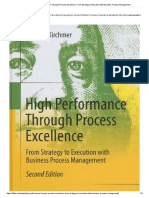 Review - High Performance Through Process Excellence_ From Strategy to Execution With Business PM