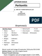Bismillah Peritonitis