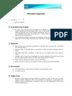 Alternative Suspension (English Version)