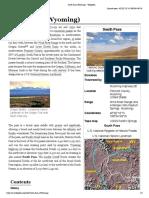 South Pass (Wyoming) - Wikipedia