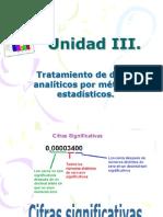 Unidad 3 Tratamiento de Datos Analíticos Por Métodos Estadísticos.