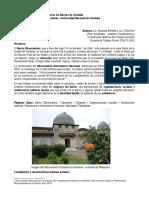 Barrio Observatorio Texto