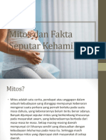 Mitos Dan Fakta Seputar Kehamilan