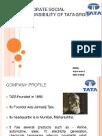 Monu Csr on Tata Group