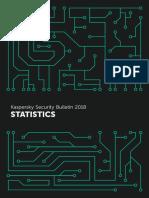 Kaspersky Statistics 2018