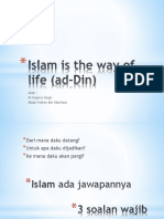 Islam is the Way of Life (Ad-Din