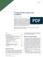 03 - Cirugía Del Pie Equinovaro Congénito
