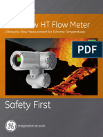 Panaflow Ht Ultrasonic Flow Meter Brochure English