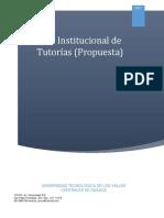 PLAN INSTITUCIONAL DE TUTORÍAS UTVCO.pdf