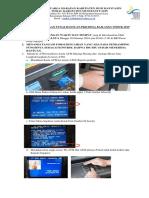 Petunjuk Penggunaan ATM(1)