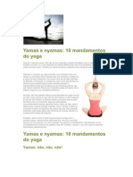 10 Mandamentos Yoga