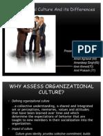 Organizational Culture n Diff. Final