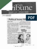 Daily Tribune, Mar. 4, 2019, Political heavy hitters.pdf