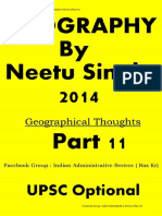 11. Geographical Thoughts by Neetu Singh Class notes part 11 of 14 by Raz kr.pdf