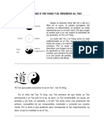La Dualidad o Yin Yang y El Regreso Al Tao