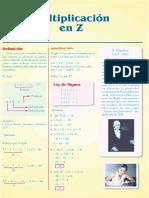 Sem3- Multiplicacion z