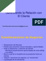 CRM - Gerencia de Relaciones Con El Cliente