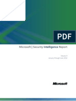 Microsoft Security Intelligence Report Volume 9 Key Findings Summary English